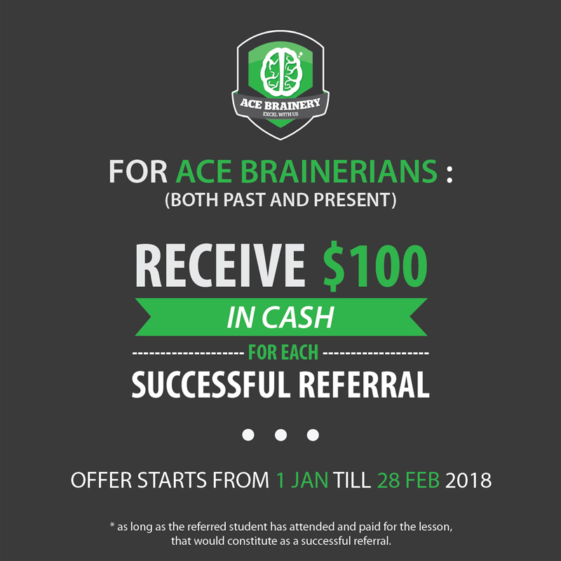 Referral program extended! - Ace Brainery